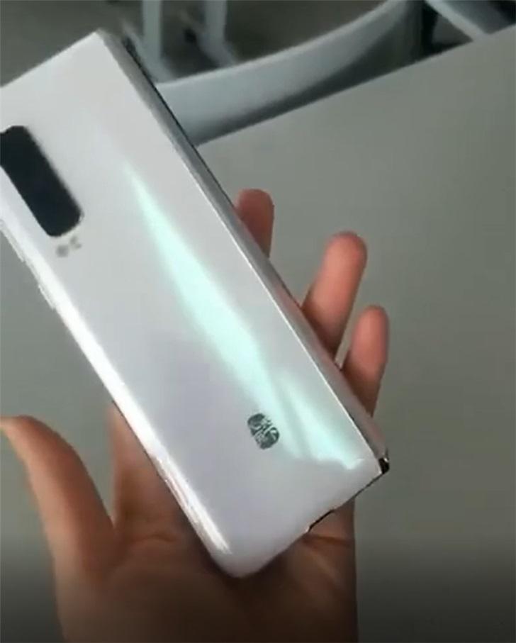 三星W20 5G手机上真机曝出,将于11月19日宣布公布