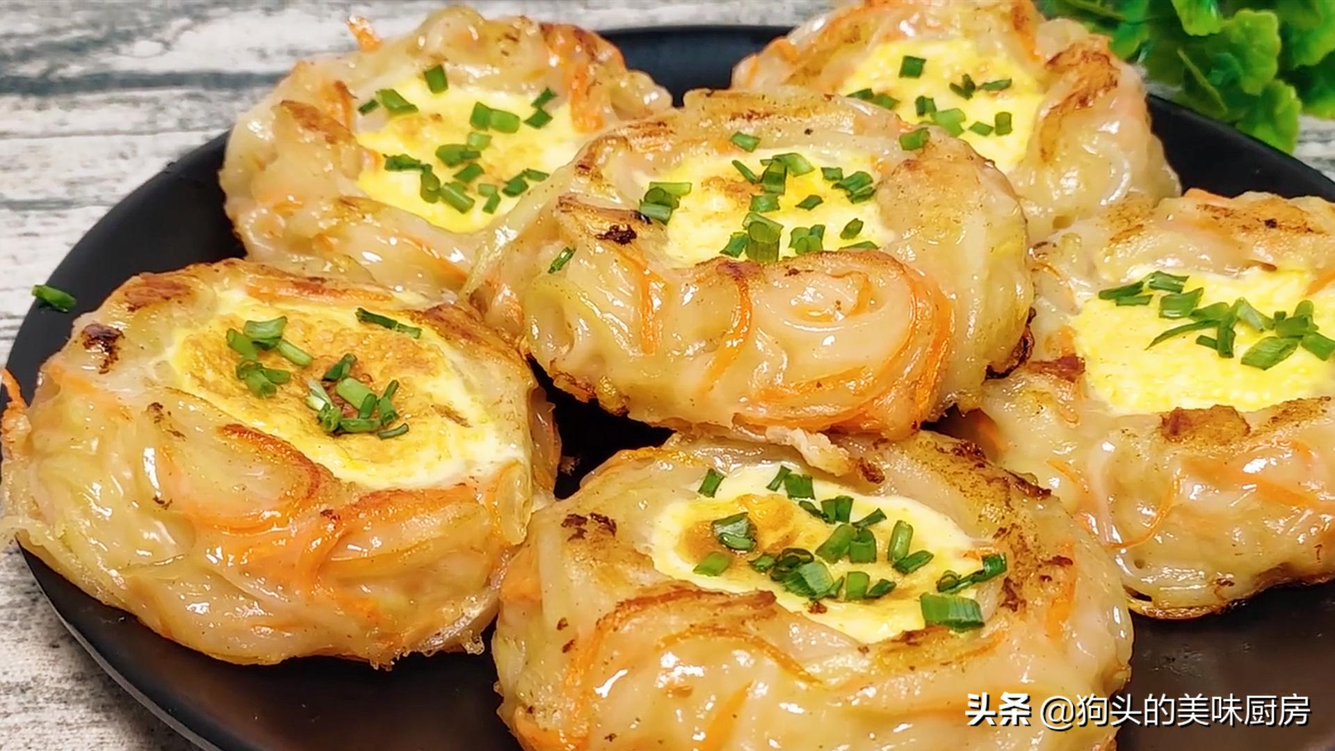 5個土豆,2個雞蛋,教你沒有吃過的做法,比肉還香,上桌就被掃光