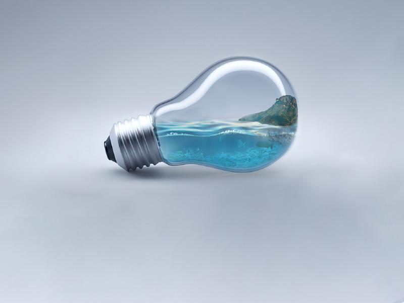 PS图文教程 : 灯泡里的世界