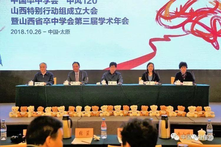 《中风120五周年》,山西省中风120特别行动组成果展