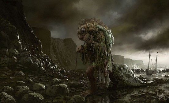 克苏鲁神话生物——深潜者
