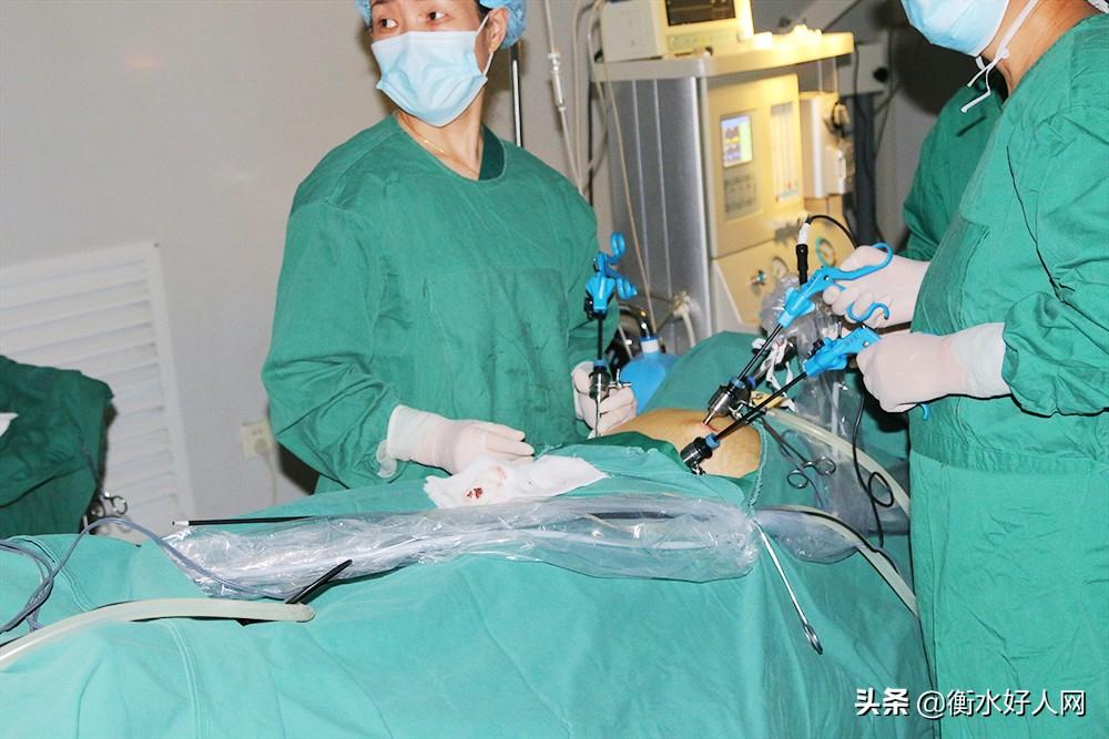 衡水国承中西医结合医院成功实施多例多例腹腔镜下输卵管开窗取胚