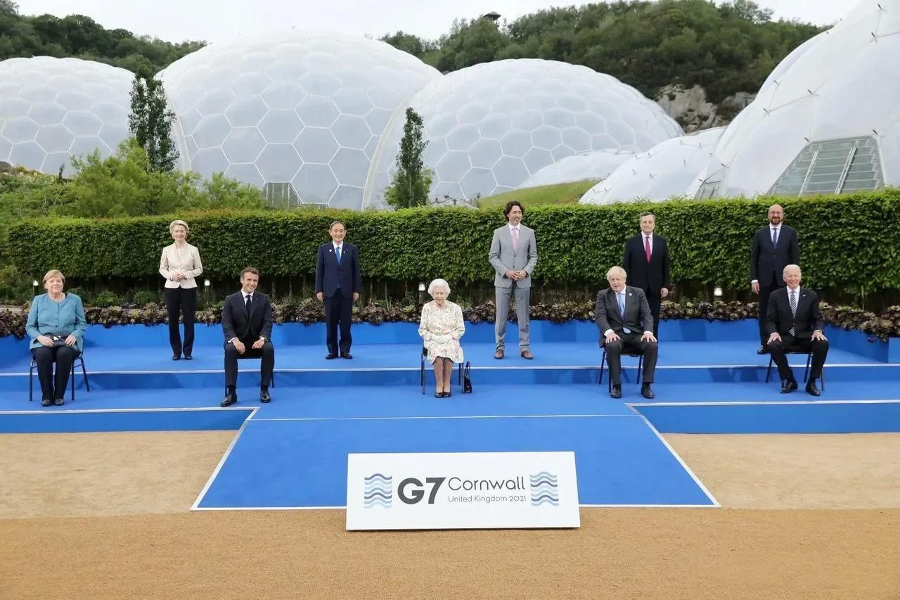 G7宣布联手抗华,默克尔说到点子上了:没有中国,西方啥也干不成