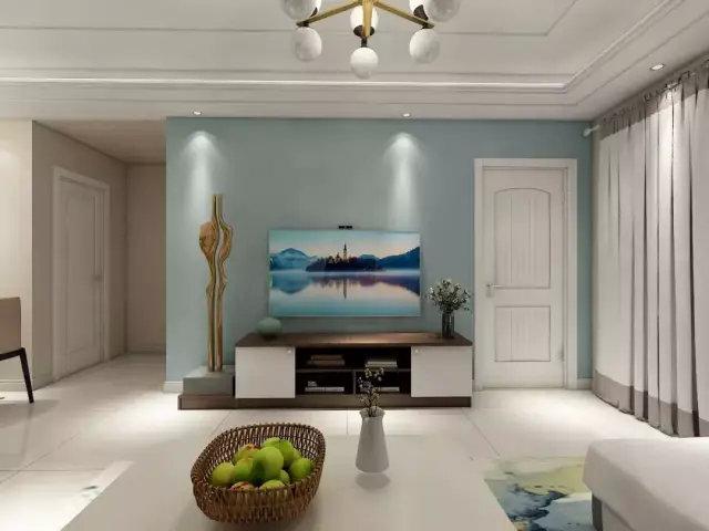 超棒的电视柜设计,我家客厅也要这样装