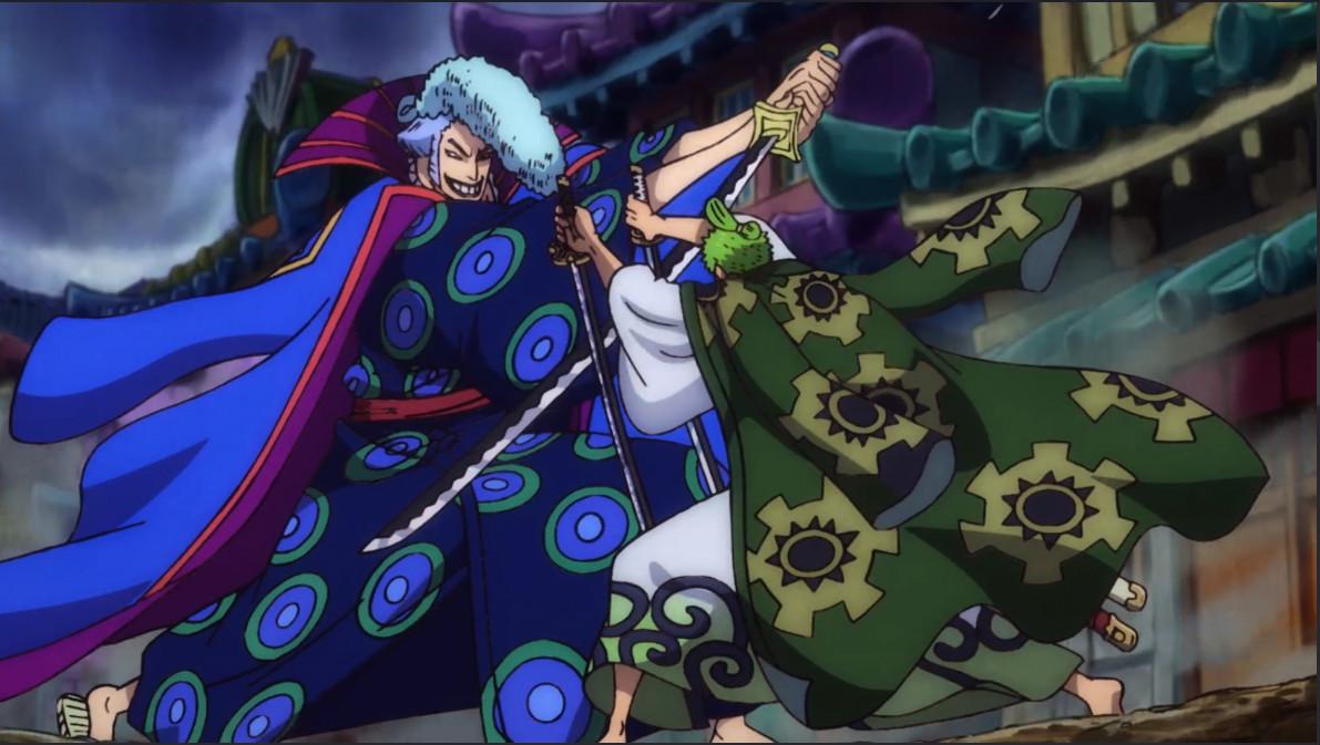 《海賊王》動畫組擅自給索隆、狂死郎之戰加戲,狂死郎實力被黑