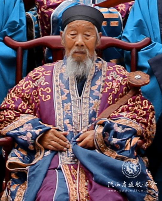 著名高功法师任法玖道长羽化仙蜕告别仪式在楼观台举行