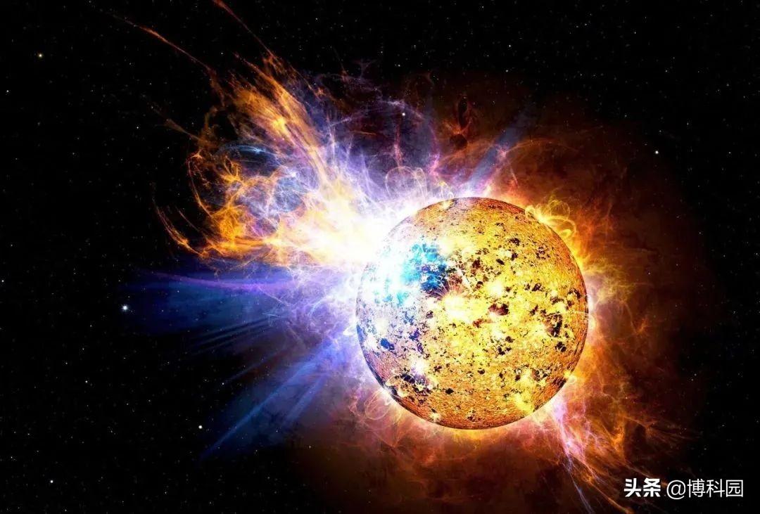 发现一次大太阳耀斑,在几分钟内就释放出太阳能量的0.02%