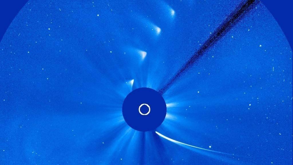 当太阳吞噬了彗星后会发生什么?