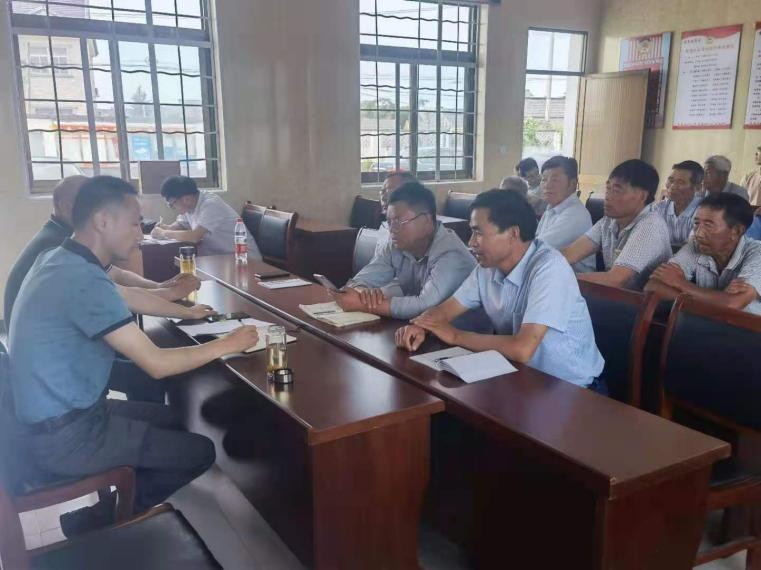 兴化市场监督管理局质检中心支部走进永丰如意村开展主题党日活动