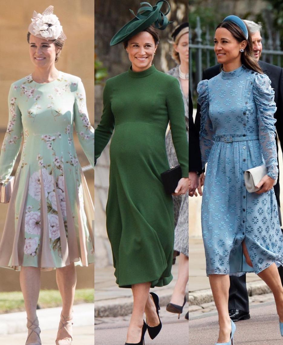 凯特王妃妹妹皮帕显老?盘点她的经典造型,孕期依旧活力满满