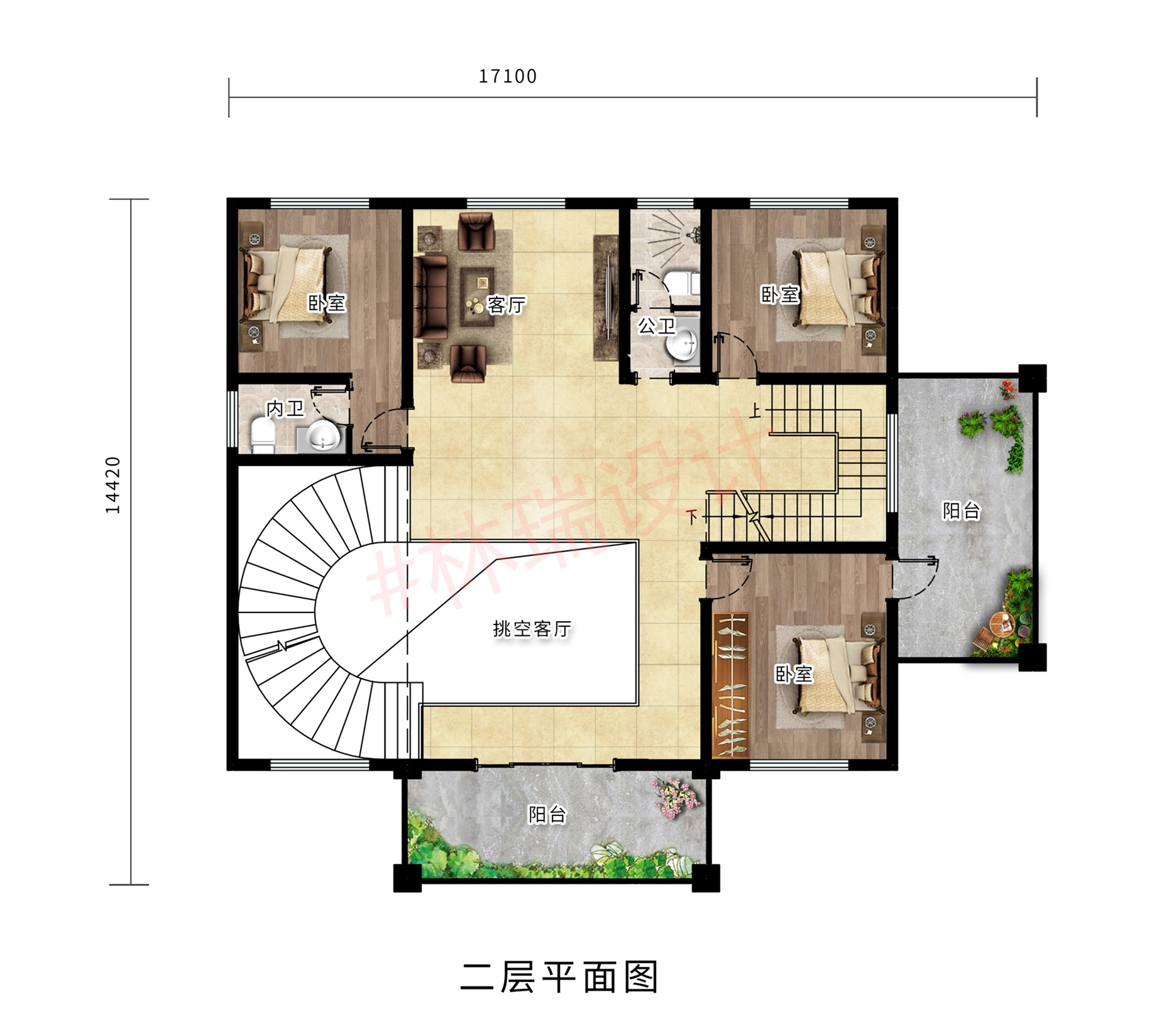 廣東王姨自建三層別墅,花了1萬的設計圖紙,欲建村裡的網紅樓