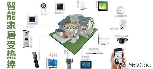 盘点智能家居中常用的传感器运用有哪些?