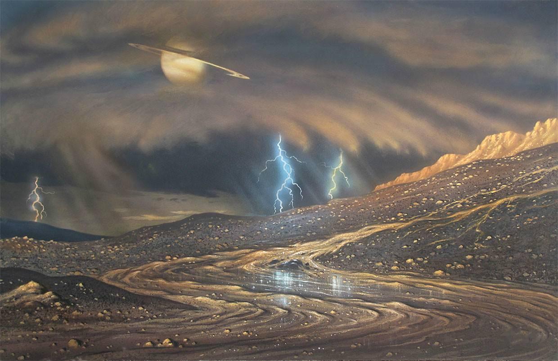 太阳系中第二颗会下雨的星球,还有浓厚大气层,有存在生命的可能-第3张图片-IT新视野