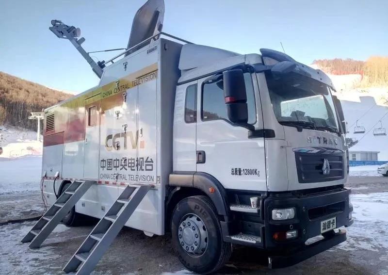 驶在东京丨中国重汽转播车助力奥运会转播报道