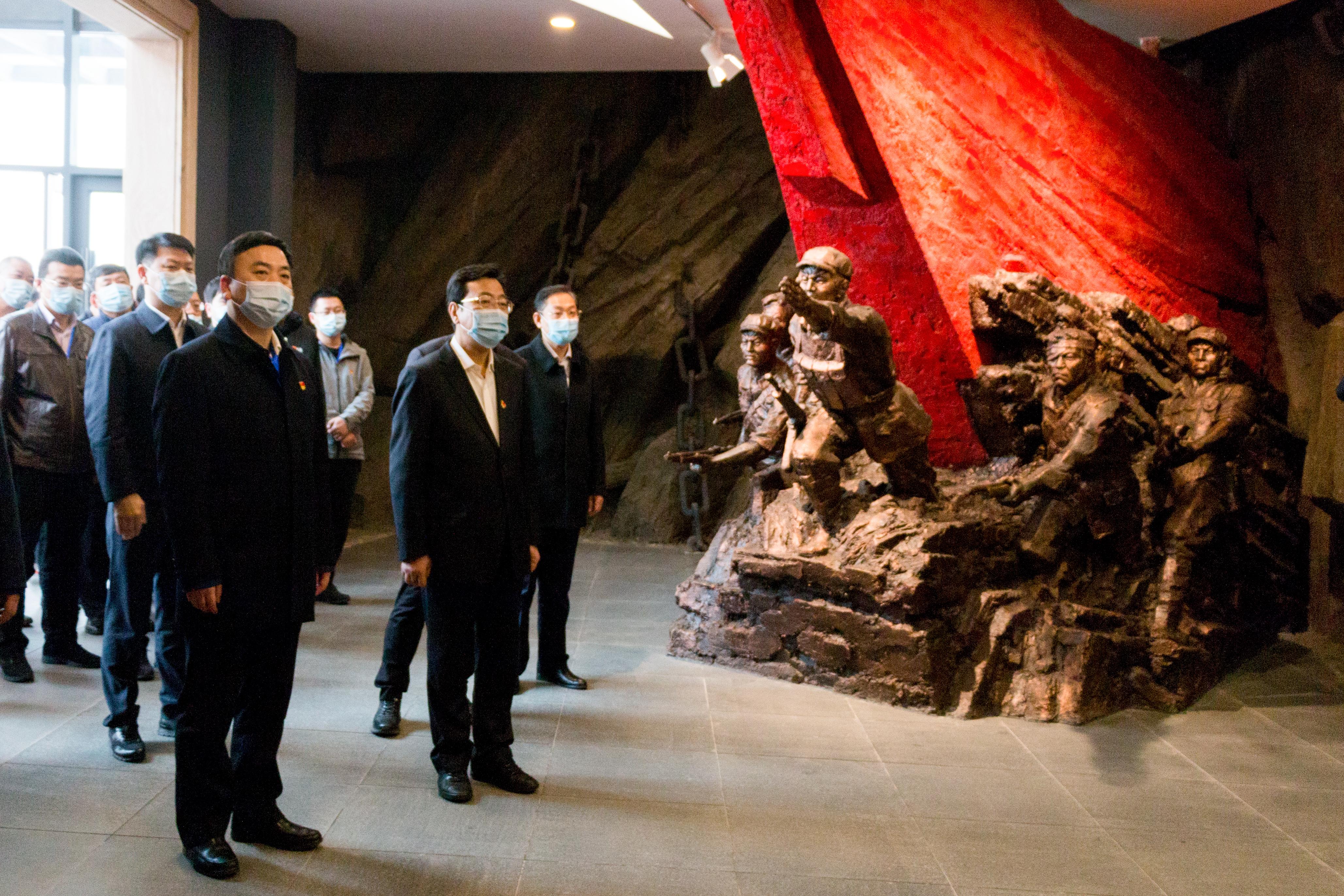 盘锦市政法系统开展革命传统教育参观廉政教育基地活动