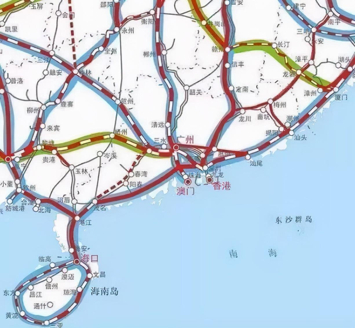推荐收藏|中国高铁规划图「2030年」