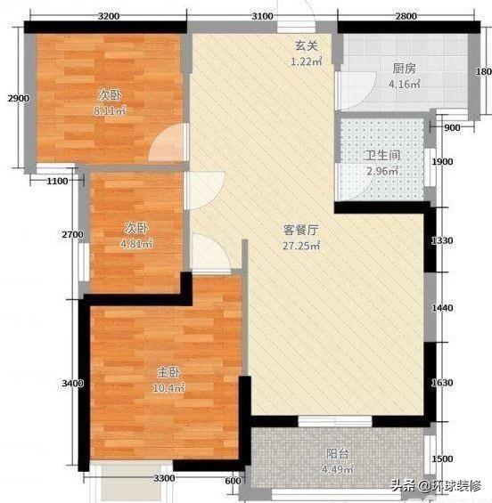 大学同学的90㎡新房,墙面全贴石纹瓷砖,简单清爽,喜欢极了