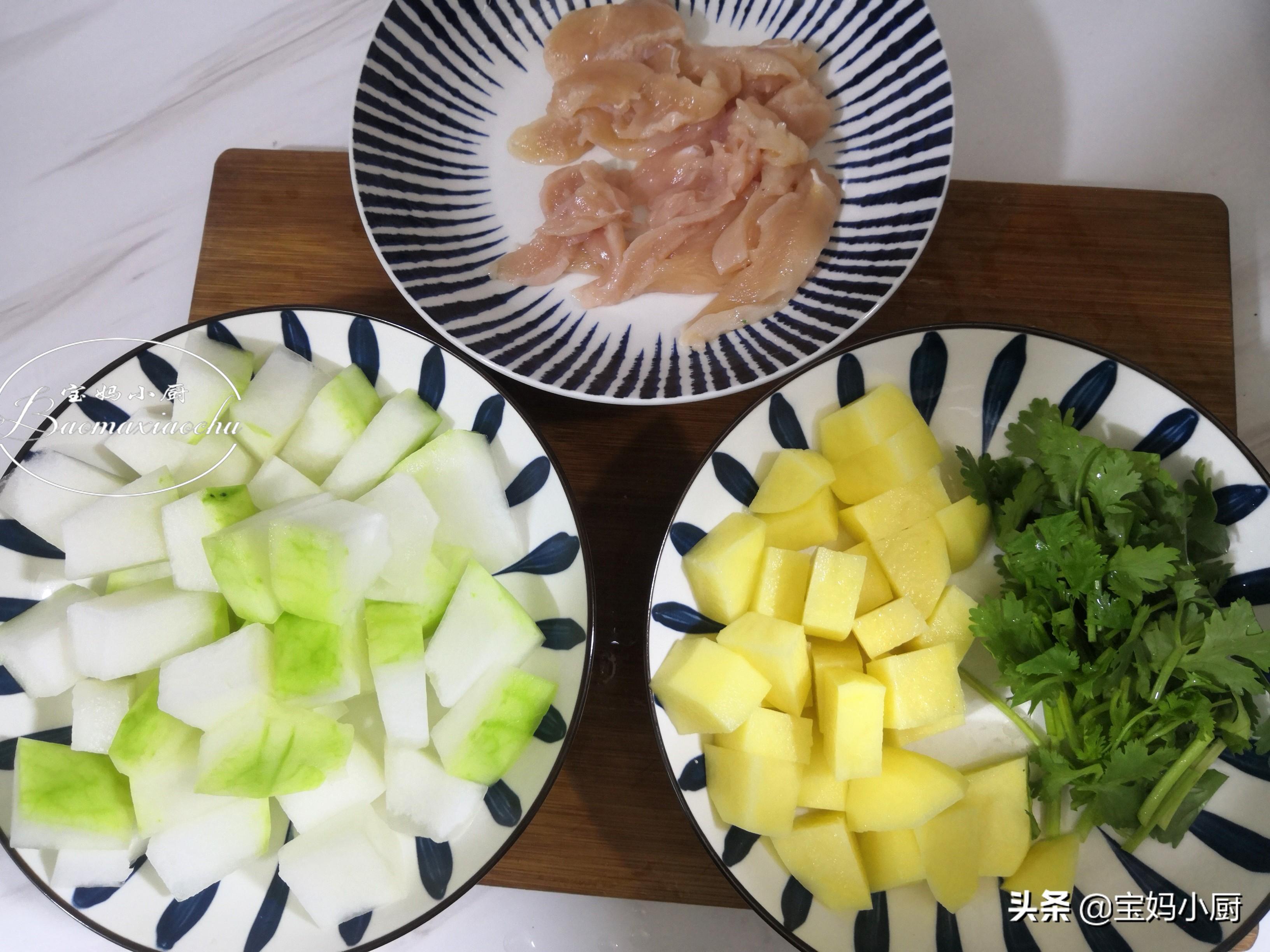 夏季减肥要喝的汤,有肉有菜高蛋白,营养多热量低,好吃助减肉