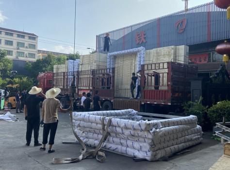 河南博物院——乘风破浪的「铁强门业•希尔顿」超大防火铜门