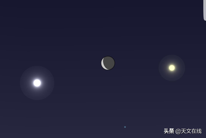 """请定好您的闹钟,今天傍晚,西方夜空可赏""""双星伴月""""天文奇观"""