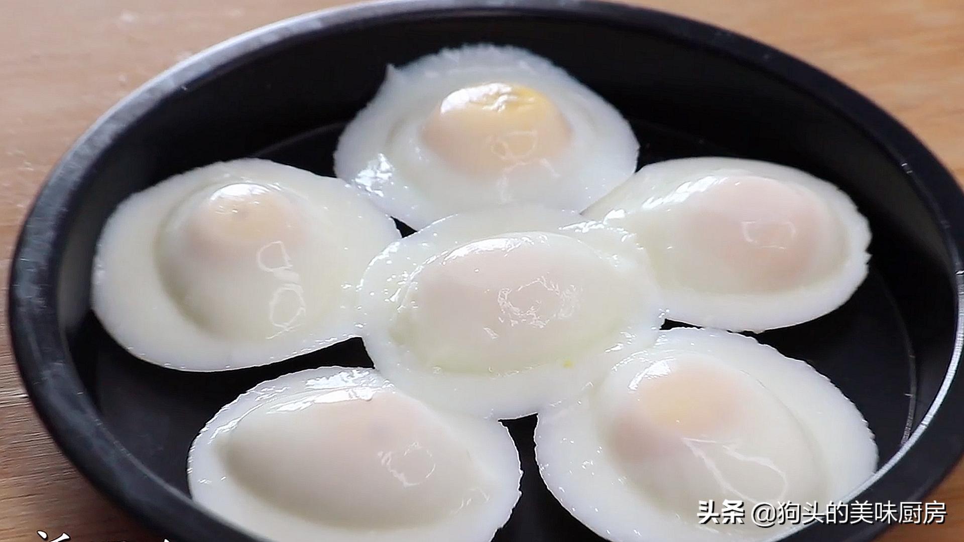 婆婆做的荷包蛋圆润不散,看了做法后,才知道方法用得不对 美食做法 第1张