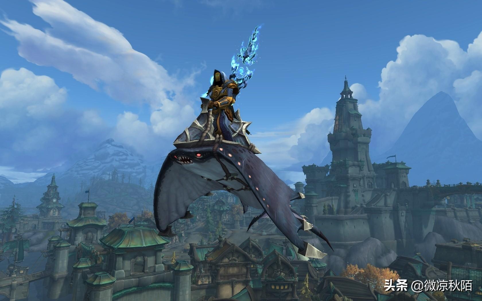 """魔兽世界:超二十万人投票,""""古树""""成最受欢迎的坐骑,蛛魔垫底"""