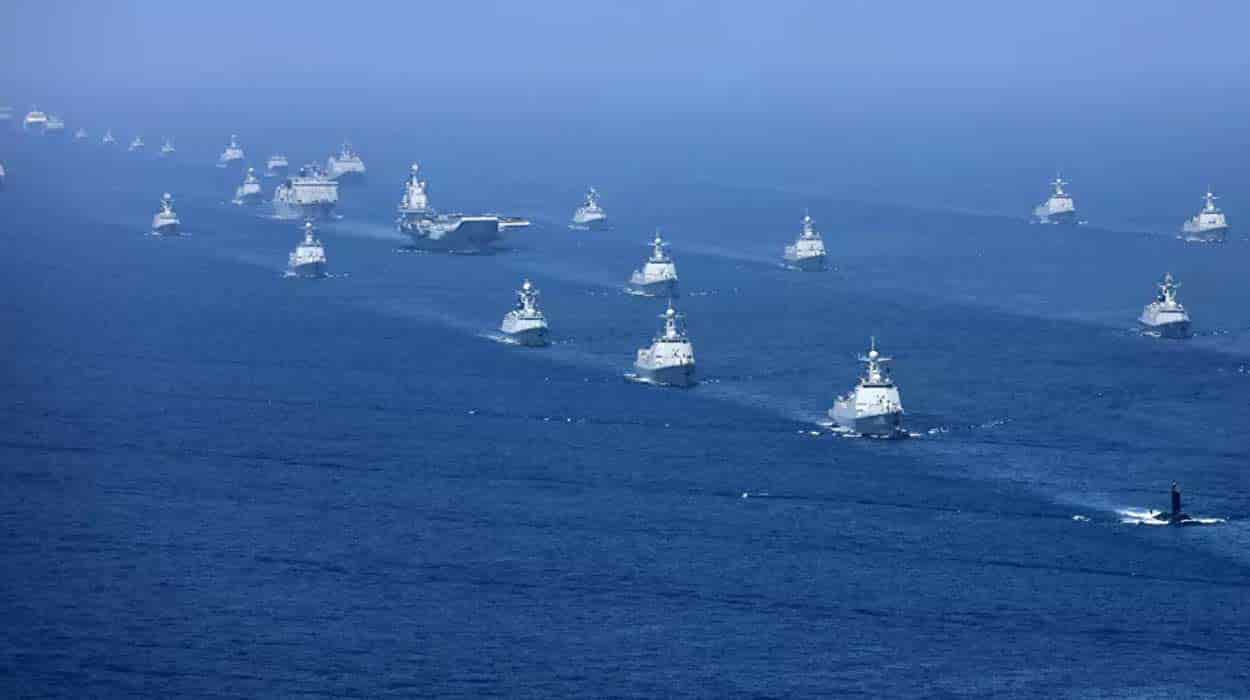 跨年大戏上演!官方连发三通告,航母、两攻、大驱与核鱼齐聚三亚
