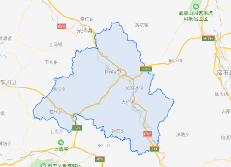 """福建省一县级市,人口超30万,素有""""铁城""""之称"""