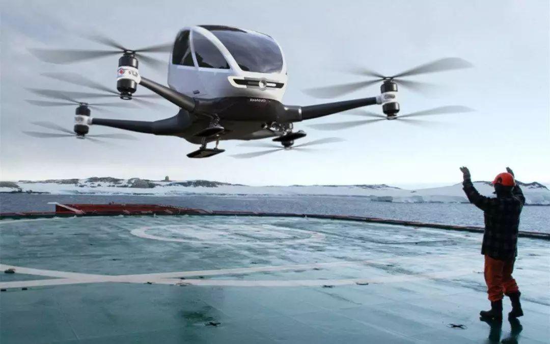 """载人无人机全球首发后,中国厂商的""""空中的士""""梦,还有多远?"""