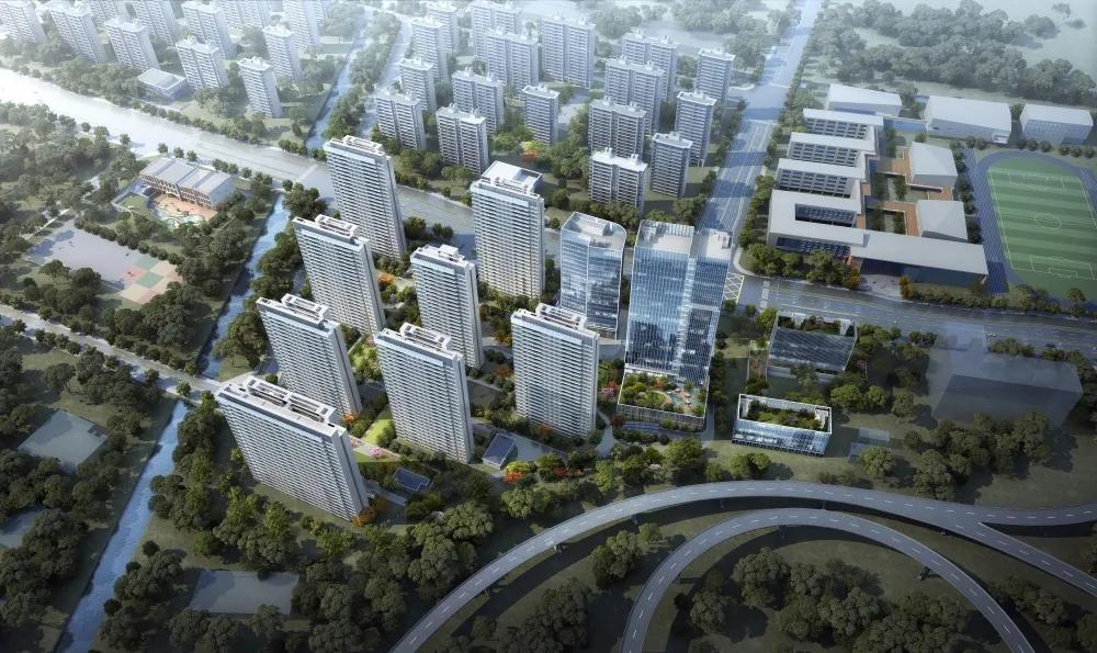 韩永刚出席二企业科技大楼开工奠基仪式