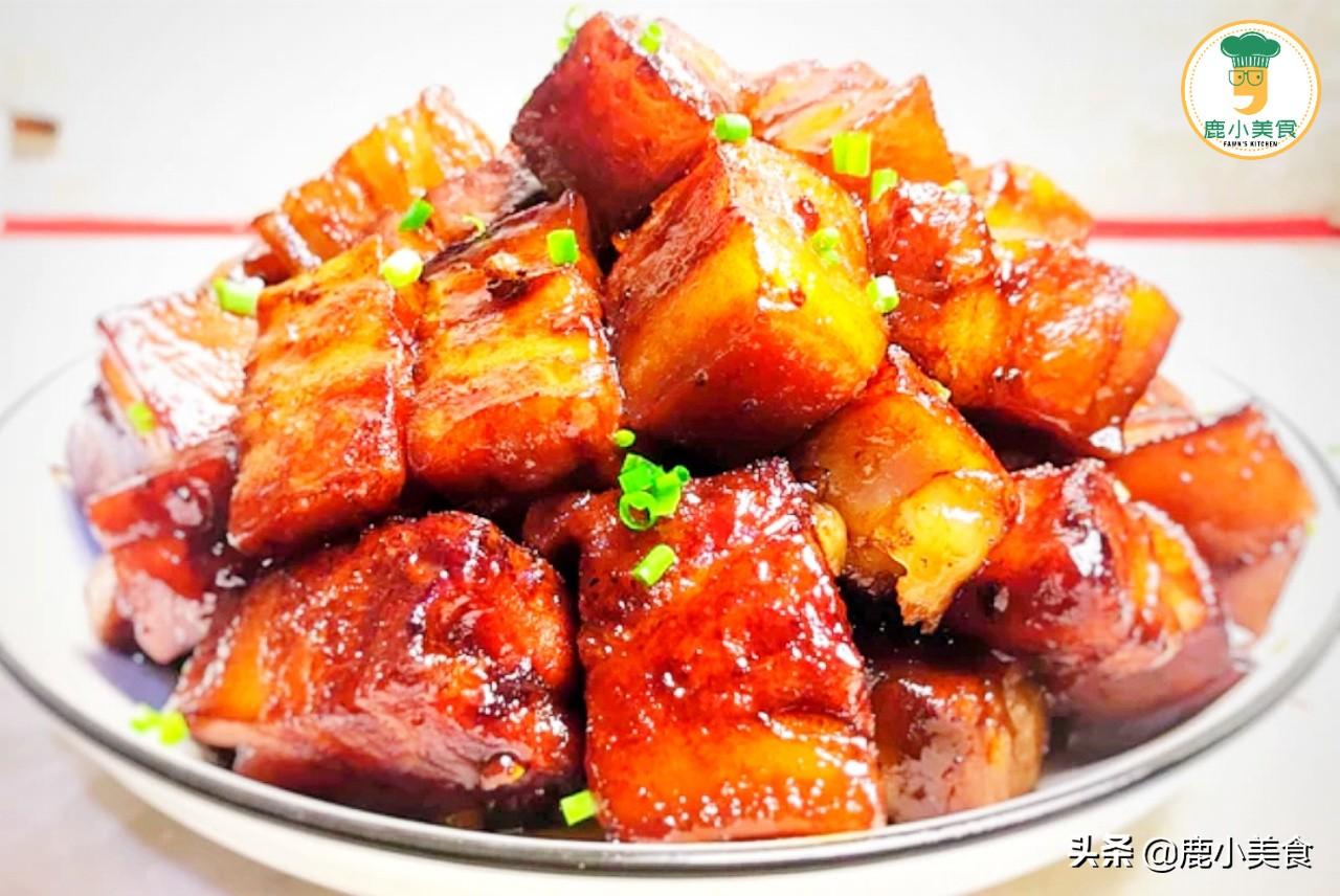 """做紅燒肉,記住做對""""3個關鍵要點"""",紅燒肉肥而不膩,醬濃肉嫩"""