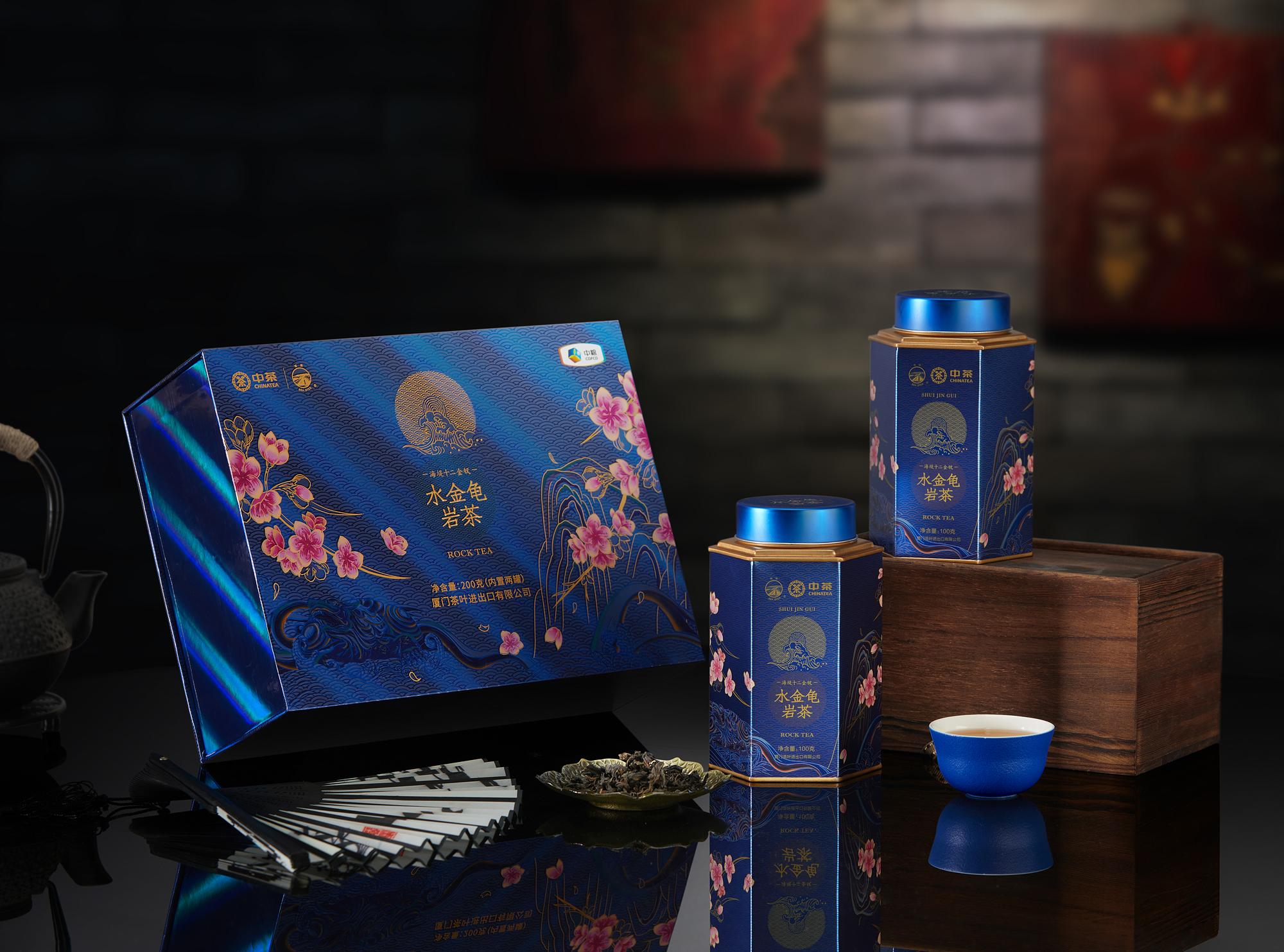 """半个月卖出近100000罐,岩茶界国潮风""""水金龟""""火了"""