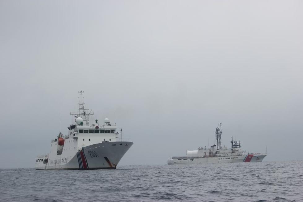 我国海警船在我钓鱼岛领海巡航!只要美日敢开枪,我海警就敢开炮