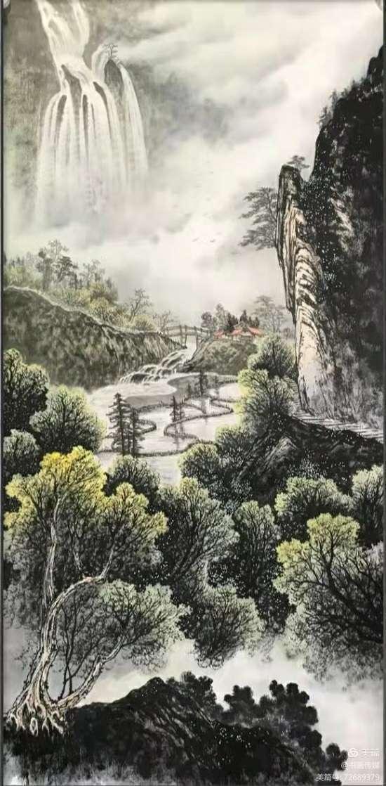 当代书画家屈茂林——栩栩如生 行云流水