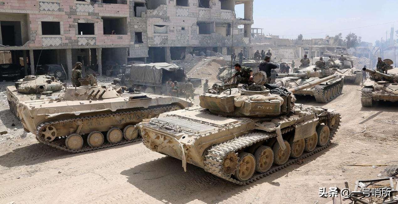 俄罗斯展现凶狠一面,联手叙利亚打响复仇战争,猛攻7天7夜