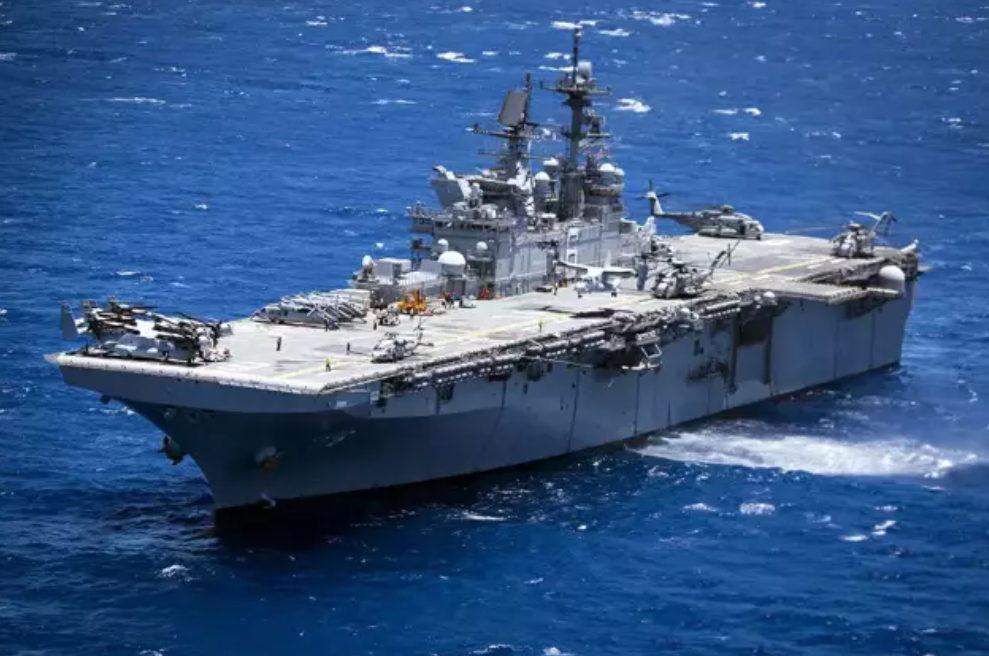 """美军鼓吹轻型航母,不光是为了""""带偏""""中国:他们已经造好了"""