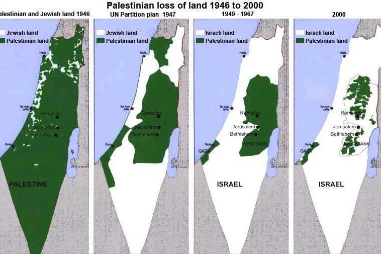 巴勒斯坦的悲哀