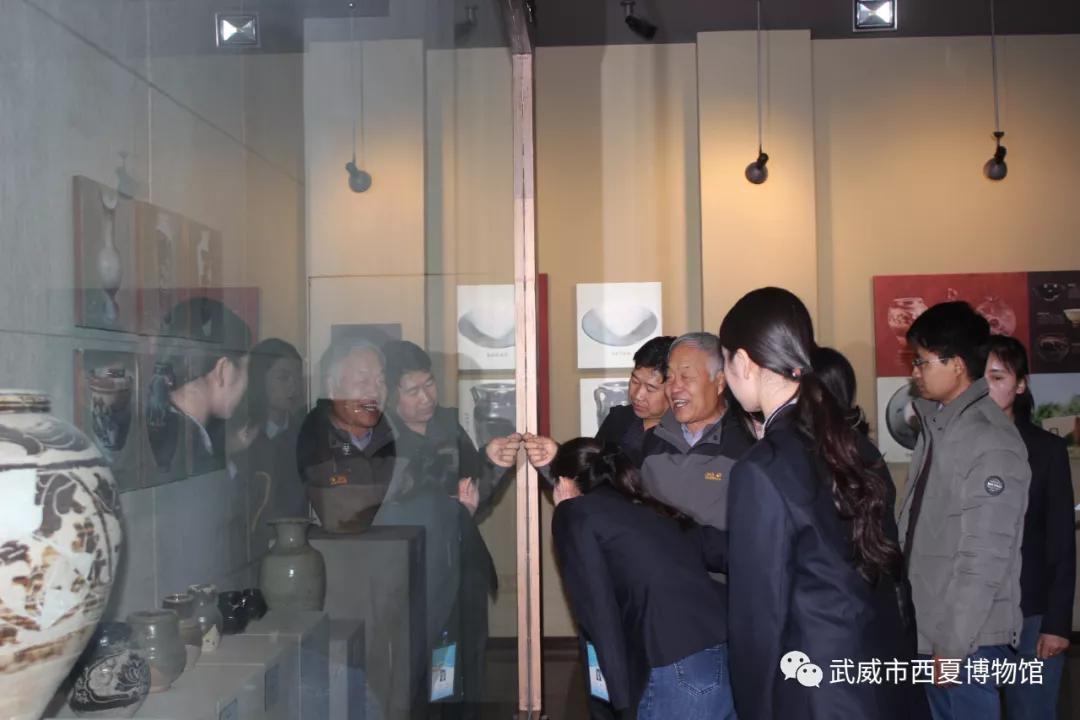 """武威市西夏博物馆冬季花样""""练兵"""""""