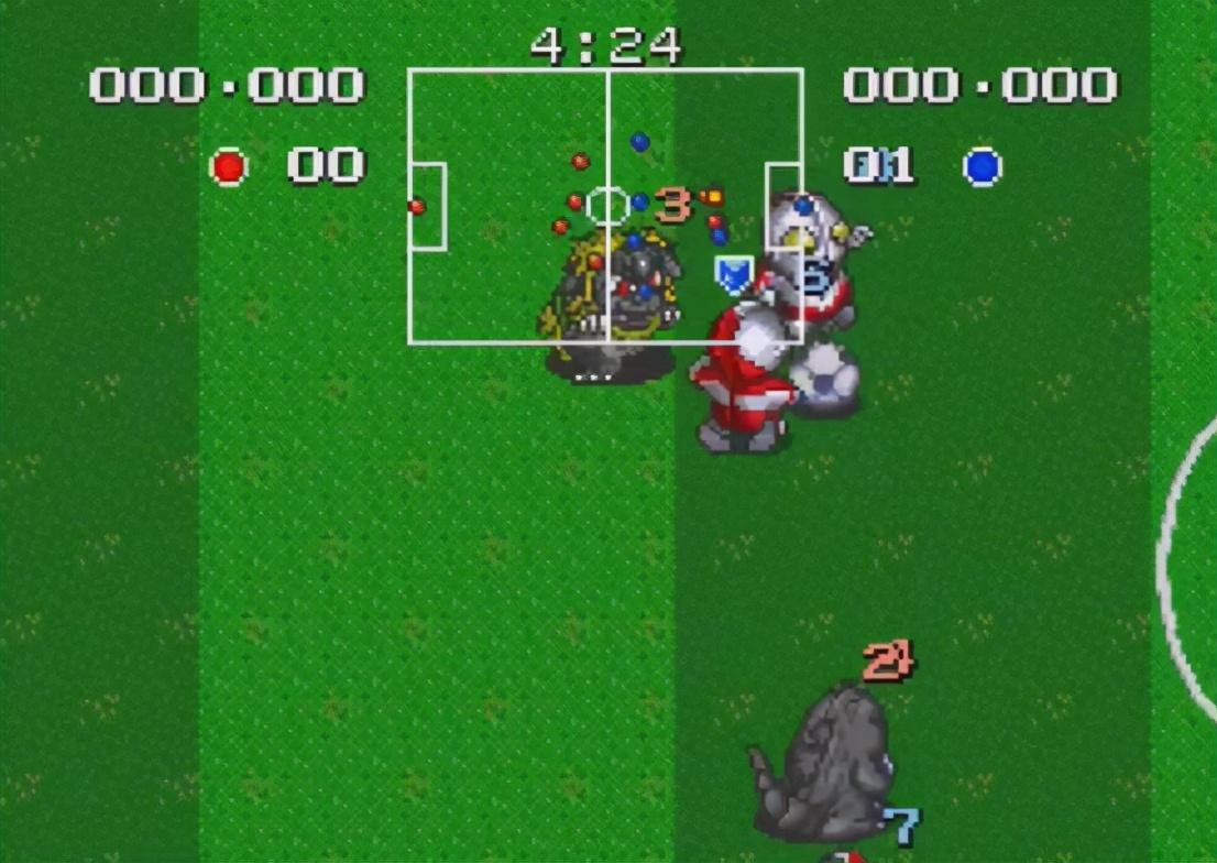 除了踢足球,奥特曼自己还能变成球,这些奥特曼游戏你都玩过吗?