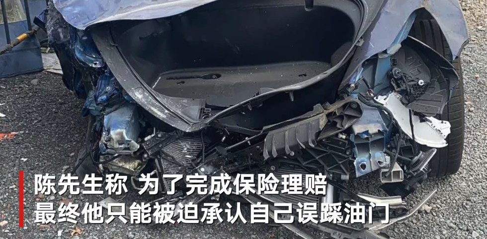 温州一特斯拉事故车主九级伤残 称为保险理赔被迫承认误踩油门