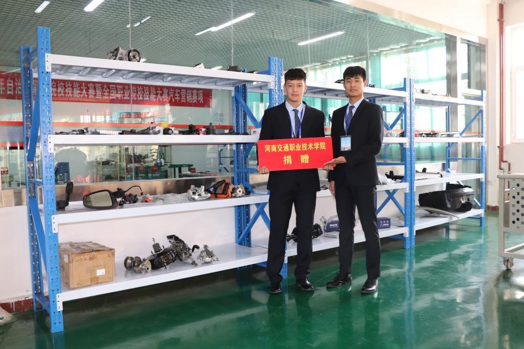 河南交院支持第十三师职业技术学院承办赛事显成效