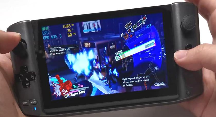 游戲流暢大開無雙,GPD WIN 3暢玩《女神異聞錄5》