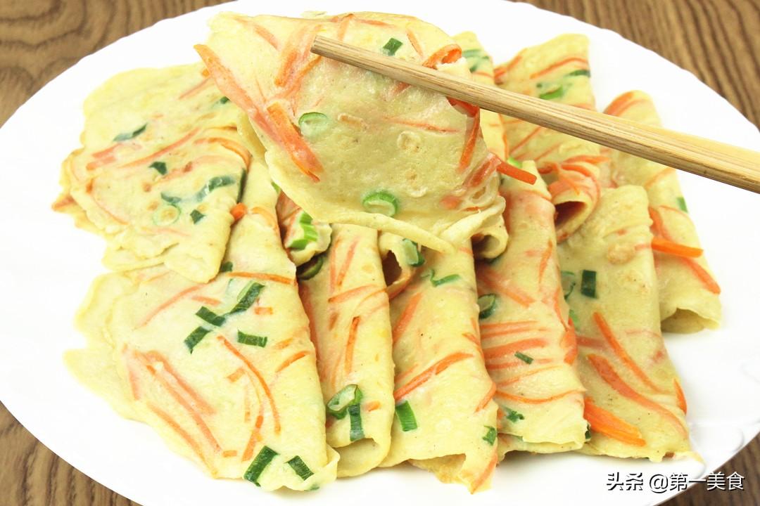 萝卜丝煎饼做法步骤图 30斤萝卜不够吃!
