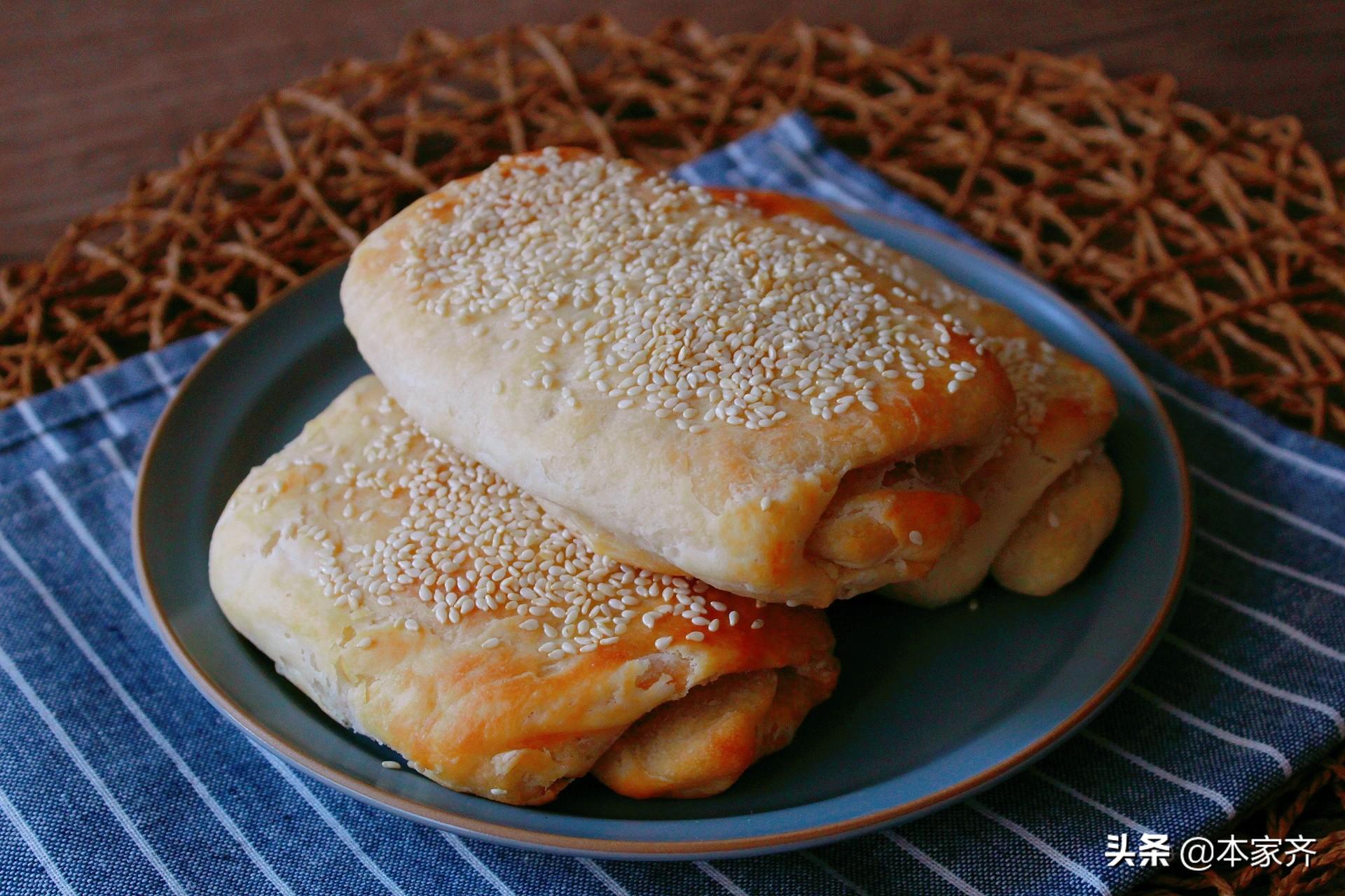 一個128層的烤餅是這樣做成的! 酥鬆又醇香,推薦給所有人