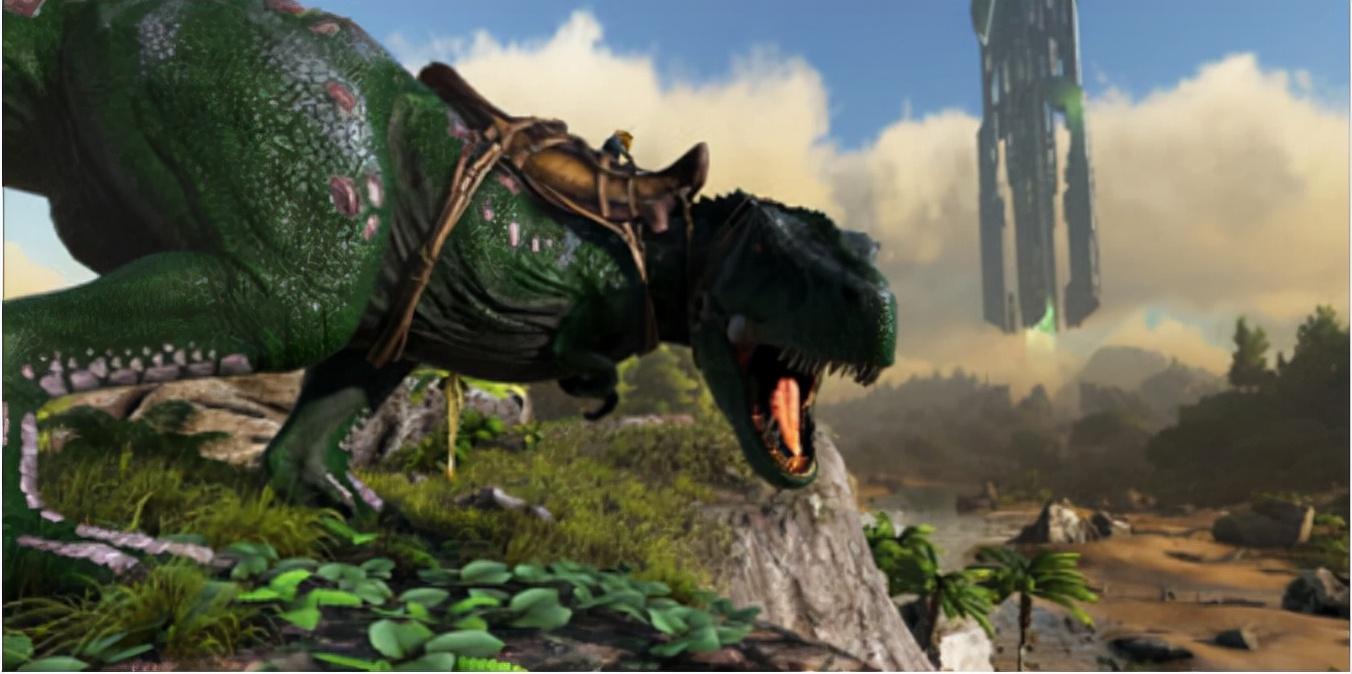 恐龙被玩成了工具兽,《方舟生存进化》每种生物都有存在意义