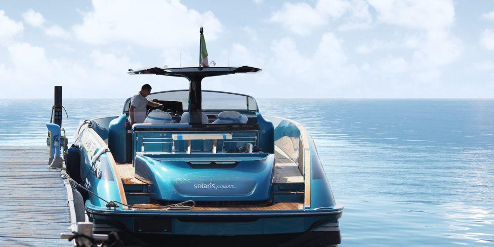来自索拉里斯Solaris Power 48 open游艇的极致诱惑