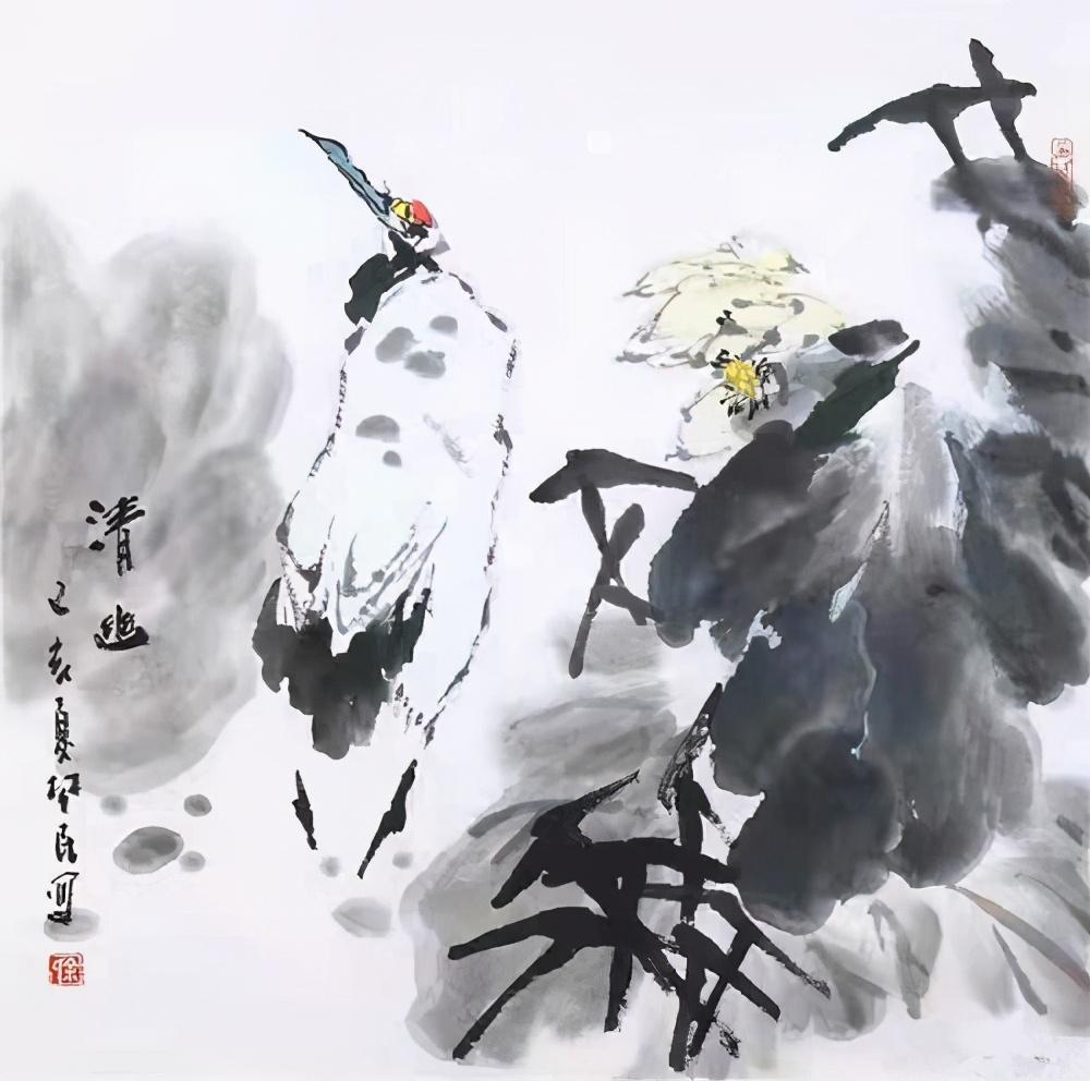 """专访""""黄鹤楼里画鹤人""""——著名画家余楚民"""