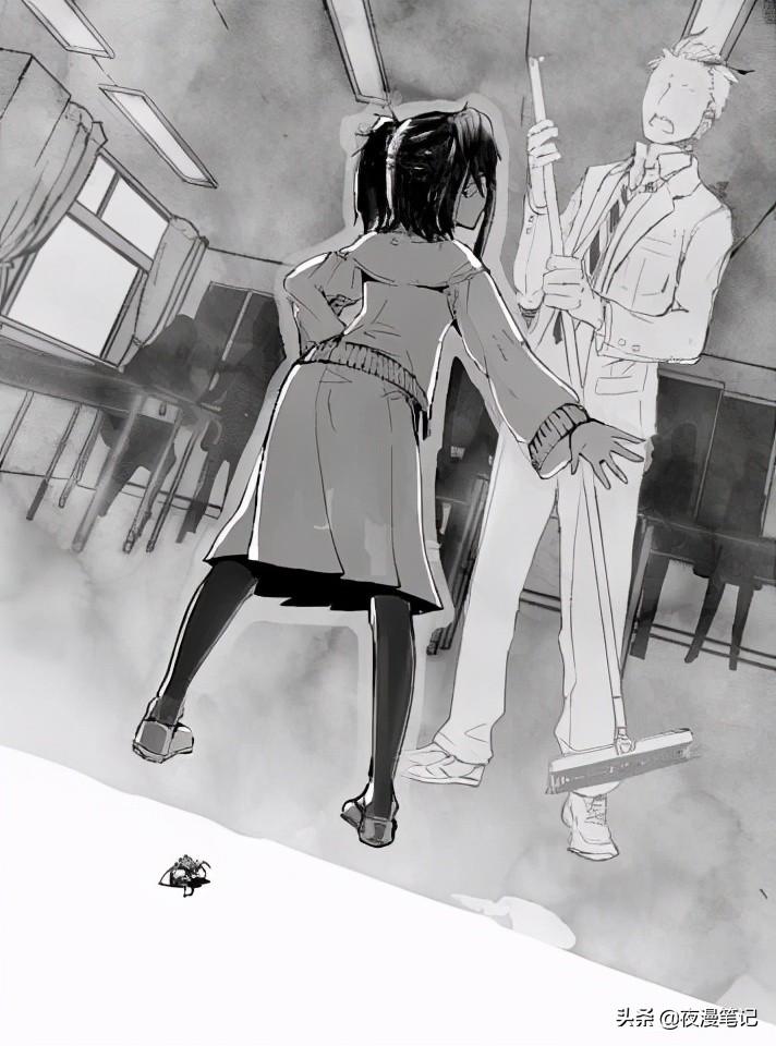 轉生成蜘蛛:蜘蛛報恩?女主前世差點被掃帚拍死,轉生後報恩