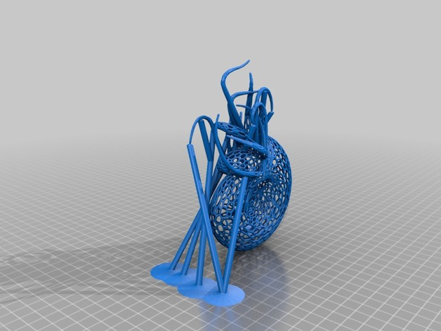 Nautilus鹦鹉螺镂空模型3D打印图纸 STL格式