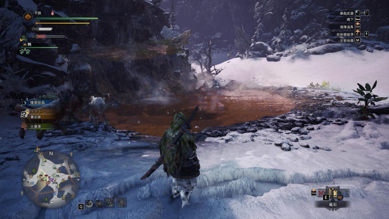 怪物猎人世界:冰原温泉金猴捕捉攻略,这个道具猎人必备